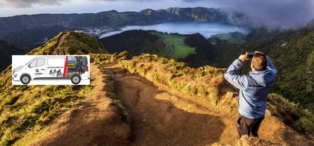 Van Tour Sete Cidades - Half day Tour