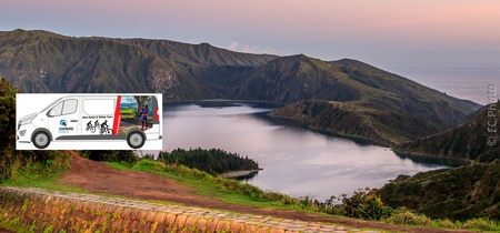 Van Tour Lagoa do Fogo - Half Day